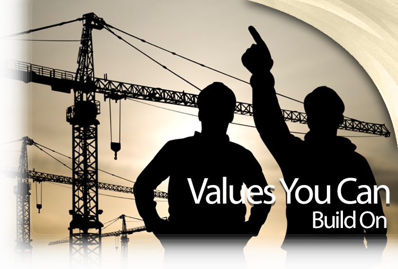 Values You Can Build On